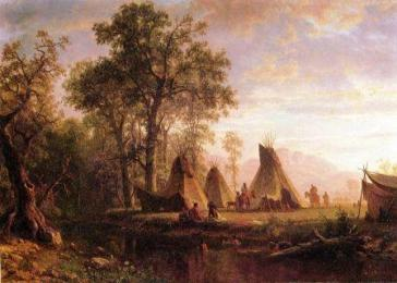 indian-viallage-tepee