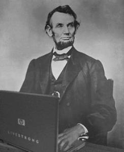 anachronism-lincoln-laptop