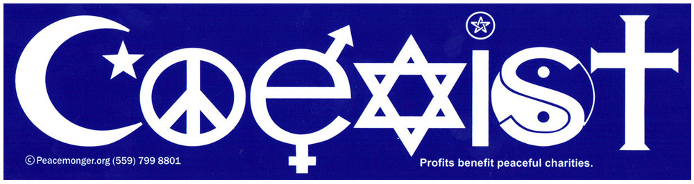 coexist_sticker