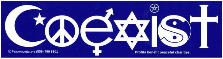 coexist_sticker