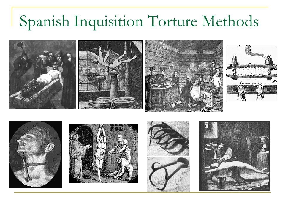 Spanish Inquisition Torture Methods