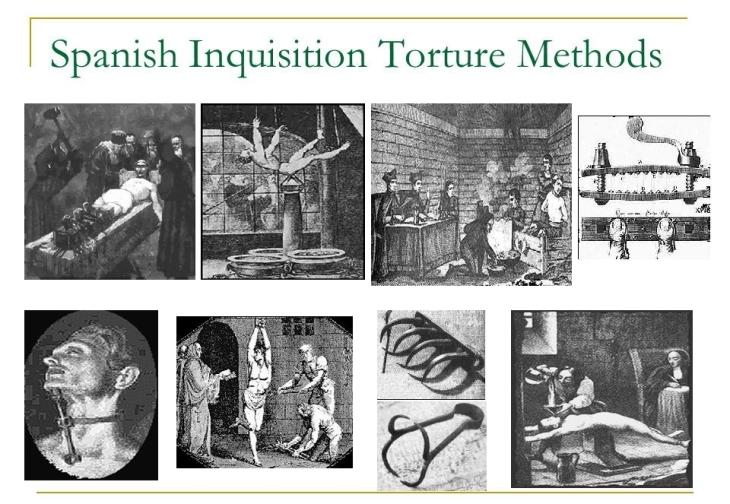Spanish Inquisition Torture Methods