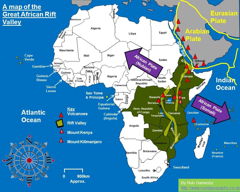 african20rift20valley20map