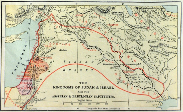 assyrian-babylonian-captivities