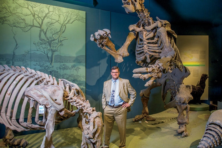Director of National Museum of Natural History Kirk Johnson