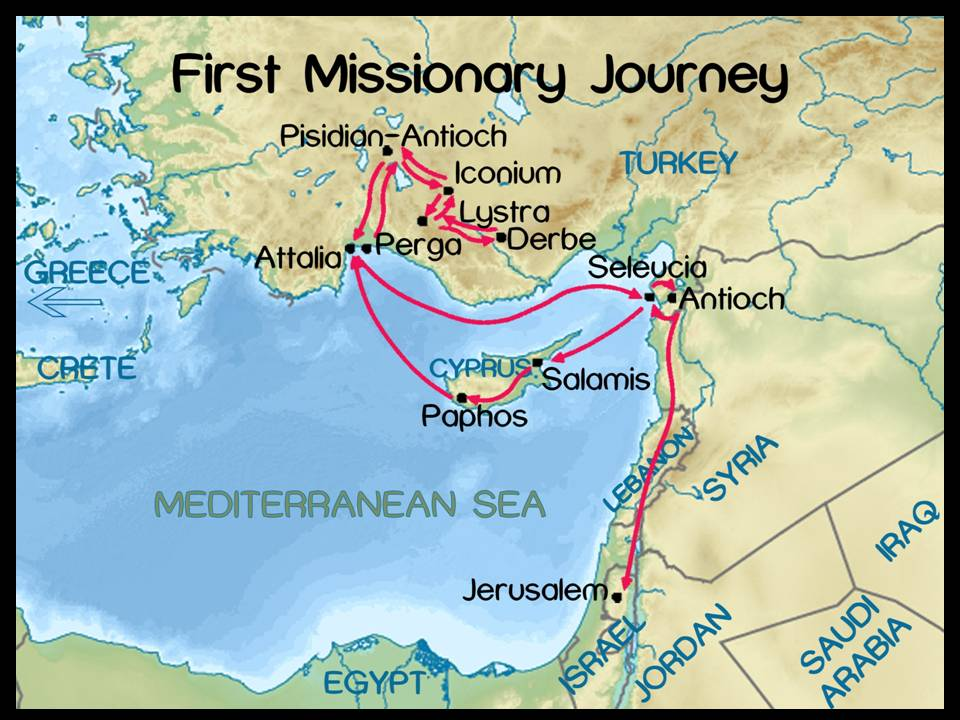 sermon-10-2013-acts-1st-missionary-journey