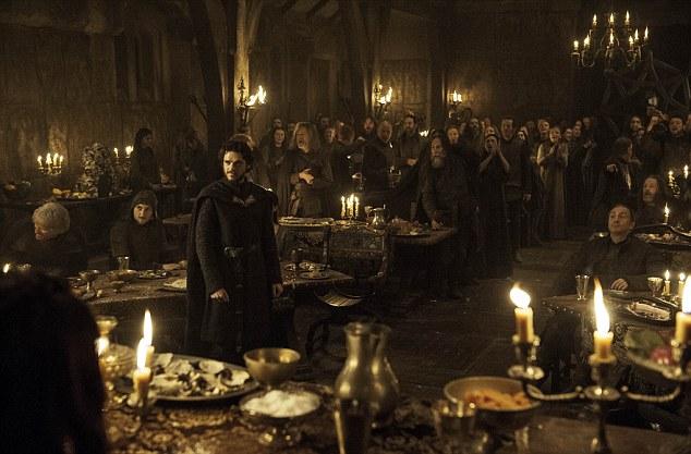 Game Of Thrones  Richard Madden as Robb Stark  © HBO