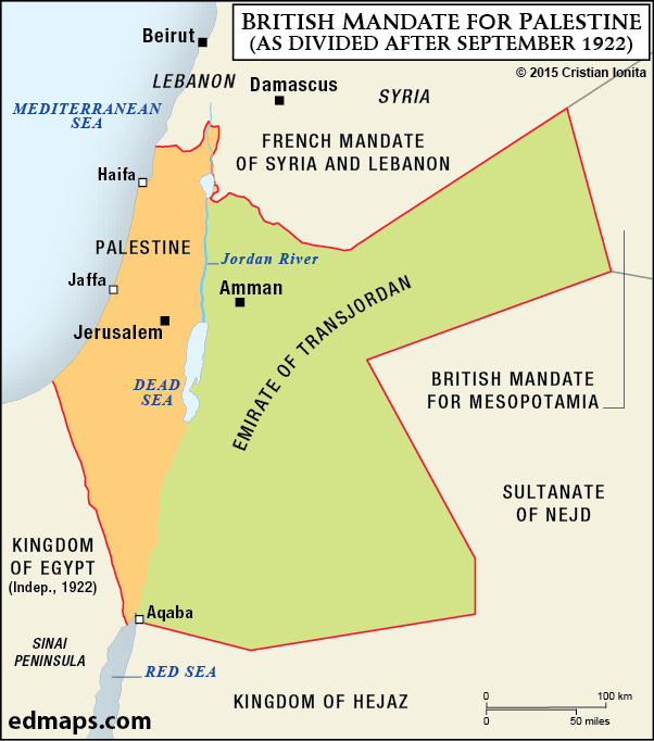 british_mandate_for_palestine_1922